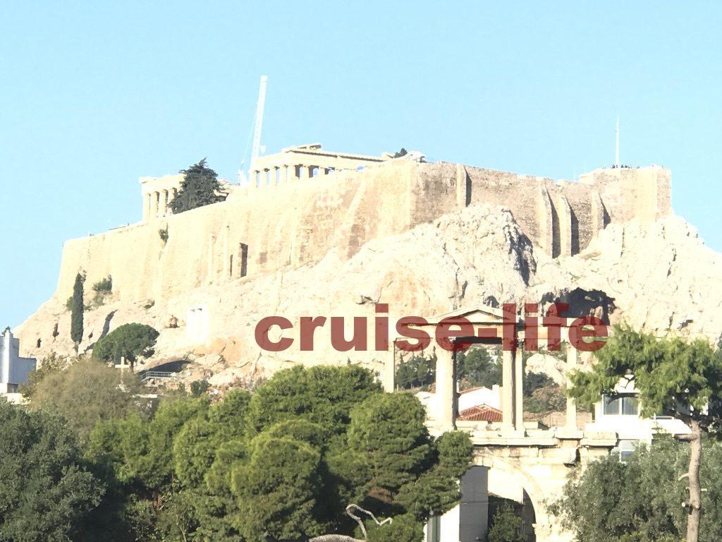 アテネ・ゼウス神殿入り口