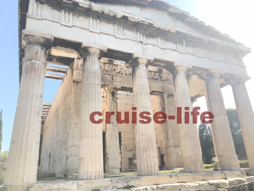 ギリシャ・アテネの観光スポット・ヘファイストス神殿
