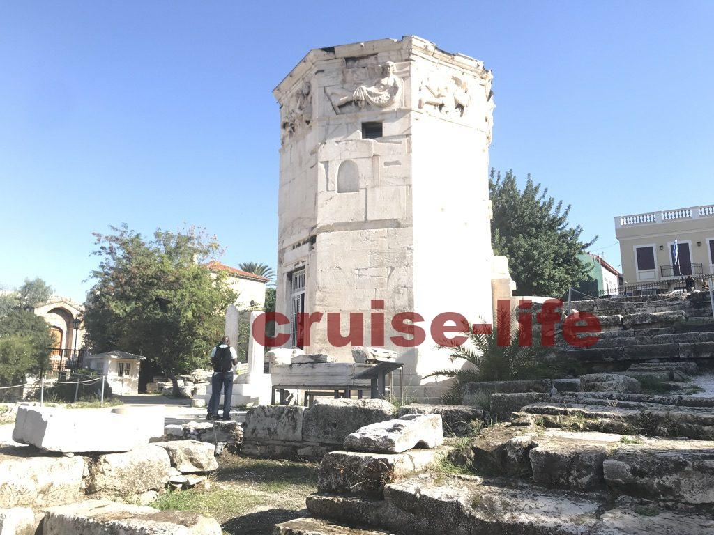 ギリシャのおすすめ観光スポット・ローマンアゴラ