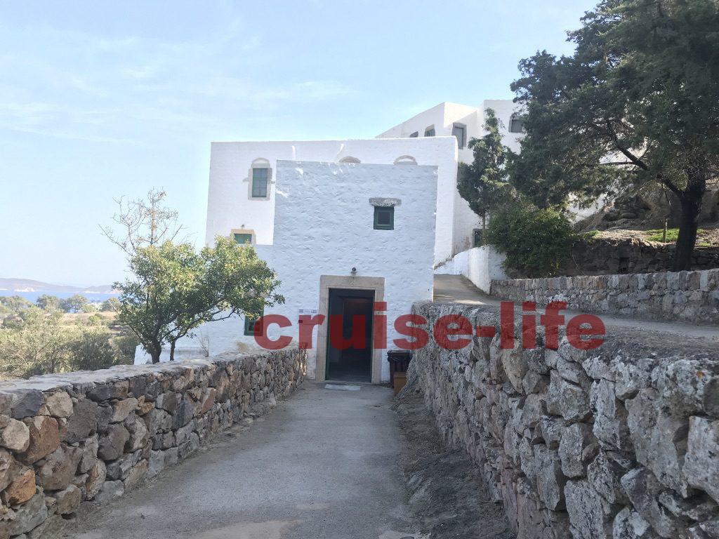 ギリシャ・パトモス島の黙示録の洞窟