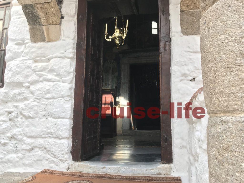 ギリシャのパトモス島にあるヨハネ修道院