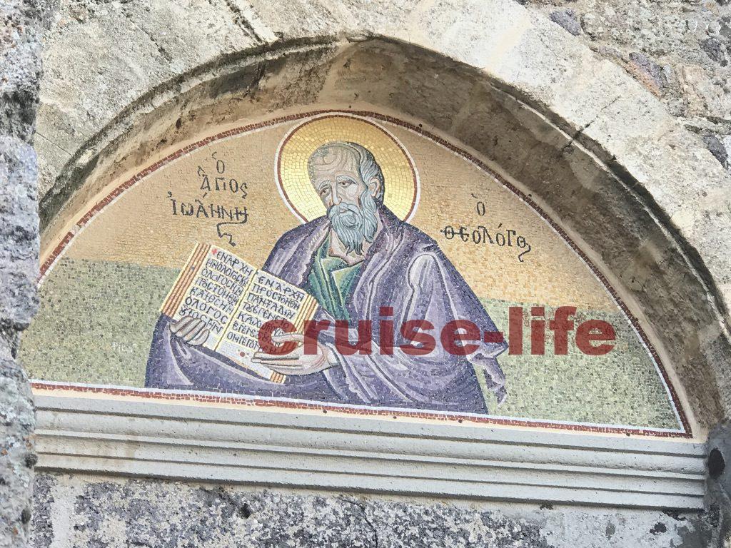 19世紀に描かれた、「聖ヨハネの奇跡」のフレスコ画