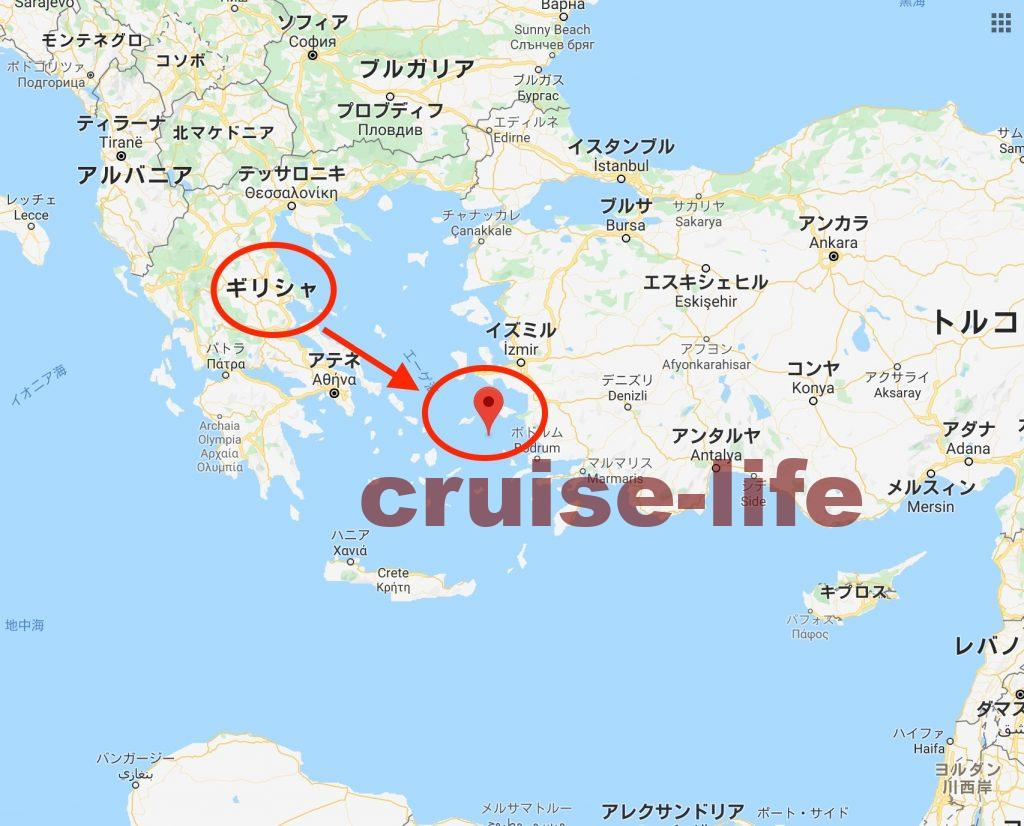 ギリシャのパトモス島