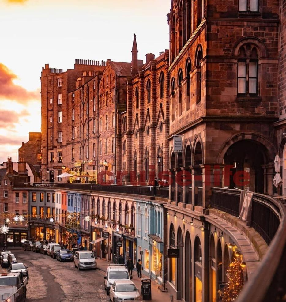 スコットランドの首都・エディンバラ